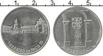 Изображение Монеты Португалия 2 1/2 евро 2010 Медно-никель UNC-