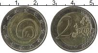 Продать Монеты Словения 2 евро 2013 Биметалл