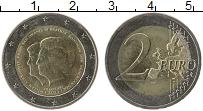 Изображение Монеты Нидерланды 2 евро 2013 Биметалл UNC- Королева Беатрикс и