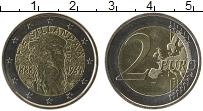 Изображение Монеты Финляндия 2 евро 2013 Биметалл UNC- 125 лет со дня рожде