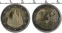Изображение Монеты Испания 2 евро 2012 Биметалл UNC-