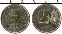 Изображение Монеты Италия 2 евро 2013 Биметалл UNC- 200 лет со дня рожде