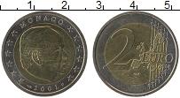 Продать Монеты Монако 2 евро 2003 Биметалл