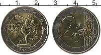 Изображение Монеты Греция 2 евро 2004 Биметалл UNC- Олимпийские игры в А