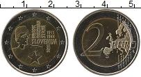 Изображение Монеты Словения 2 евро 2011 Биметалл UNC- 100 лет со дня рожде