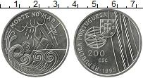 Изображение Мелочь Португалия 200 эскудо 1999 Медно-никель UNC-