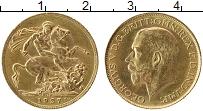 Изображение Монеты ЮАР 1 соверен 1927 Золото XF