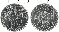 Изображение Монеты Франция 10 евро 2012 Серебро UNC- Регионы Франции. Мар