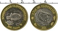 Продать Монеты Остров Клиппертон 200 франков 2011 Биметалл