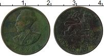 Изображение Монеты Эфиопия 5 центов 1944 Медь VF