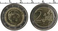 Продать Монеты Бельгия 2 евро 2016 Биметалл