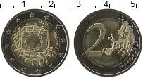 Продать Монеты Эстония 2 евро 2015 Биметалл