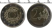 Продать Монеты Словакия 2 евро 2015 Биметалл