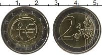 Продать Монеты Мальта 2 евро 2009 Биметалл