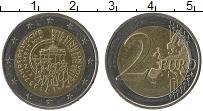 Изображение Монеты Германия 2 евро 2015 Биметалл UNC D. 25 лет Объединени
