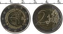 Продать Монеты Словакия 2 евро 2014 Биметалл