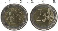 Изображение Монеты Италия 2 евро 2014 Биметалл UNC 450 лет со дня рожде