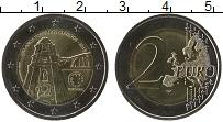 Изображение Монеты Португалия 2 евро 2013 Биметалл UNC 250 лет церкви Клери