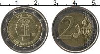 Продать Монеты Бельгия 2 евро 2012 Биметалл