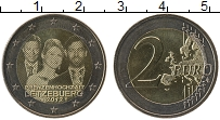 Продать Монеты Люксембург 2 евро 2012 Биметалл