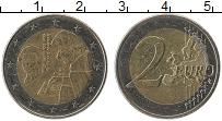 Изображение Монеты Нидерланды 2 евро 2011 Биметалл UNC Эразм Роттердамский