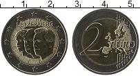 Продать Монеты Люксембург 2 евро 2011 Биметалл