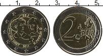 Продать Монеты Бельгия 2 евро 2011 Биметалл