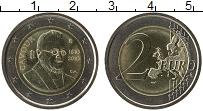 Изображение Монеты Италия 2 евро 2010 Биметалл UNC 200 лет со дня рожде