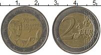 Изображение Монеты Франция 2 евро 2010 Биметалл UNC