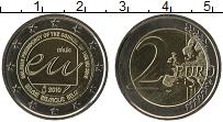 Продать Монеты Бельгия 2 евро 2010 Биметалл