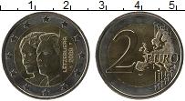 Продать Монеты Люксембург 2 евро 2009 Биметалл
