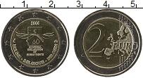 Продать Монеты Бельгия 2 евро 2008 Биметалл