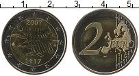 Изображение Монеты Финляндия 2 евро 2007 Биметалл UNC