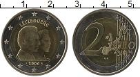 Продать Монеты Люксембург 2 евро 2006 Биметалл