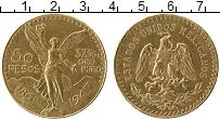 Изображение Монеты Мексика 50 песо 1947 Золото XF+ KM#481 , Вес 41,66 г