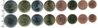 Изображение Наборы монет Ватикан  2002 Биметалл UNC