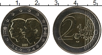 Продать Монеты Люксембург 2 евро 2005 Биметалл