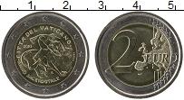 Изображение Монеты Ватикан 2 евро 2010 Биметалл UNC Год священика