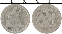 Изображение Монеты США 1/4 доллара 1876 Серебро VF