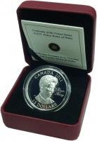 Изображение Подарочные монеты Канада 15 долларов 2011 Серебро Proof Принц Гарри Уэльский
