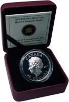 Изображение Подарочные монеты Канада 20 долларов 2012 Серебро Proof Королевский алмазный