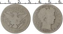Изображение Монеты США 1/2 доллара 1906 Серебро VF