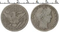 Изображение Монеты США 1/2 доллара 1912 Серебро VF