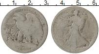 Изображение Монеты США 1/2 доллара 1919 Серебро VF
