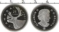 Изображение Монеты Канада 25 центов 2007 Медно-никель Proof- Елизавета II