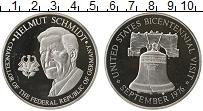 Изображение Монеты ФРГ Жетон 1976 Серебро Proof-