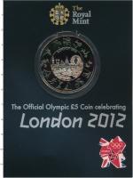 Изображение Подарочные монеты Великобритания 5 фунтов 2012 Медно-никель UNC