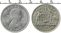 Изображение Монеты Австралия 1 флорин 1960 Серебро XF Елизавета II.