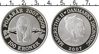 Изображение Монеты Дания 100 крон 2007 Серебро Proof Маргарет II. Междуна