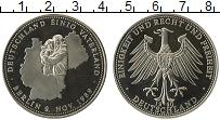 Изображение Монеты Германия Жетон 1990 Медно-никель UNC Объединение Германии